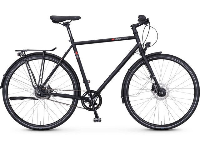 vsf fahrradmanufaktur T-100 Trapeze Nexus 8-speed FL Disc, black matte